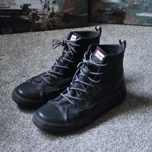 Hunter Hightop Shoes